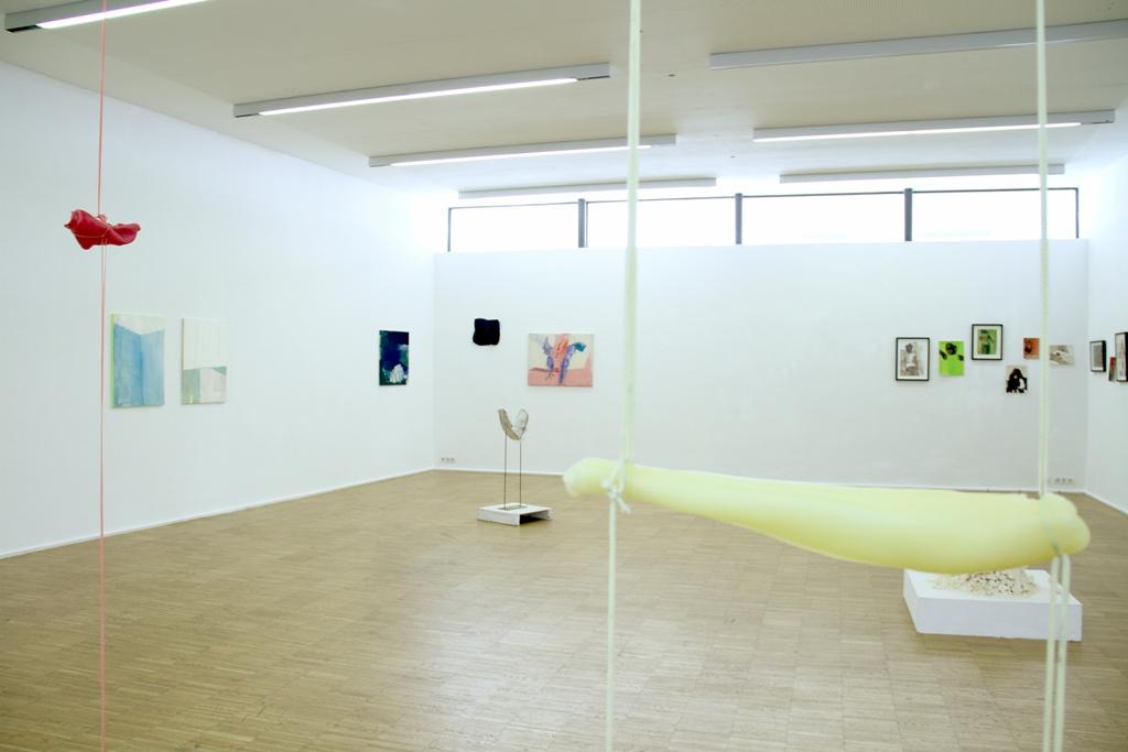 Ausstellungsansicht Maerz 14 mit Rudolf Polansky Anne Schneider Ziggy Owens Ilona Rainer Pranter Julia Hinterberger Daniel Franz Rappitsch
