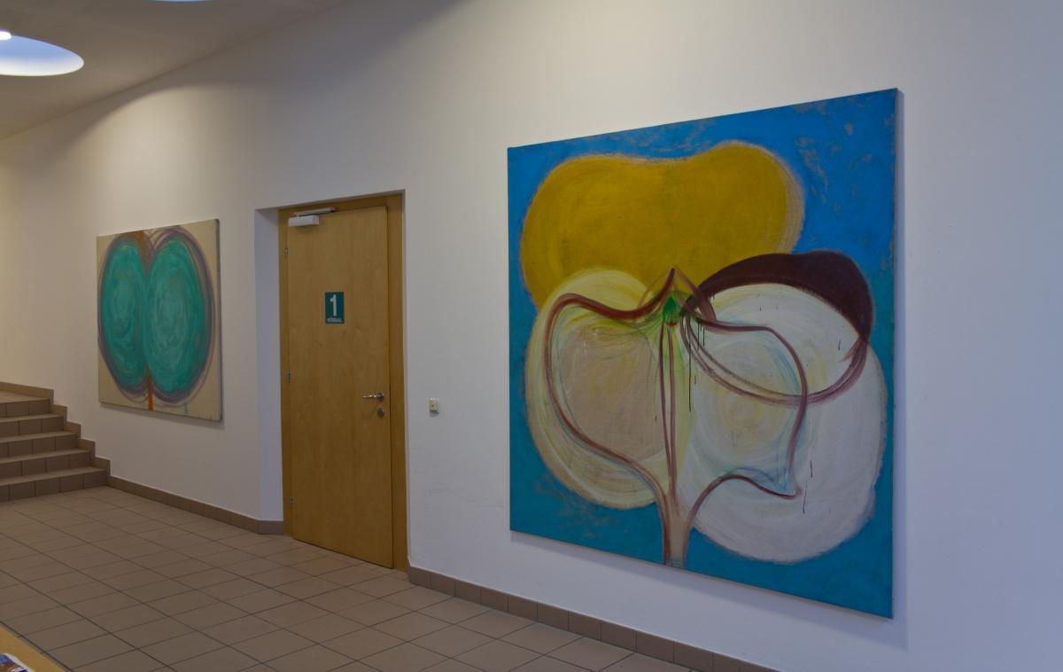Ausstellungsansicht 3, Julia Hinterberger, Im Vorbeigehen, 2015