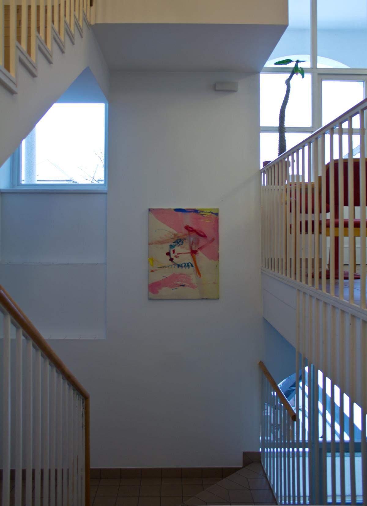 Ausstellungsansicht 5, Julia Hinterberger, Im Vorbeigehen, 2015
