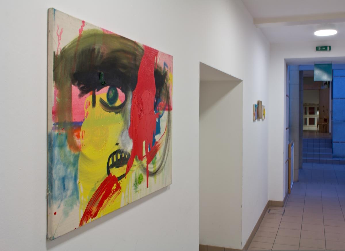 Ausstellungsansicht 6, Julia Hinterberger, Im Vorbeigehen, 2015