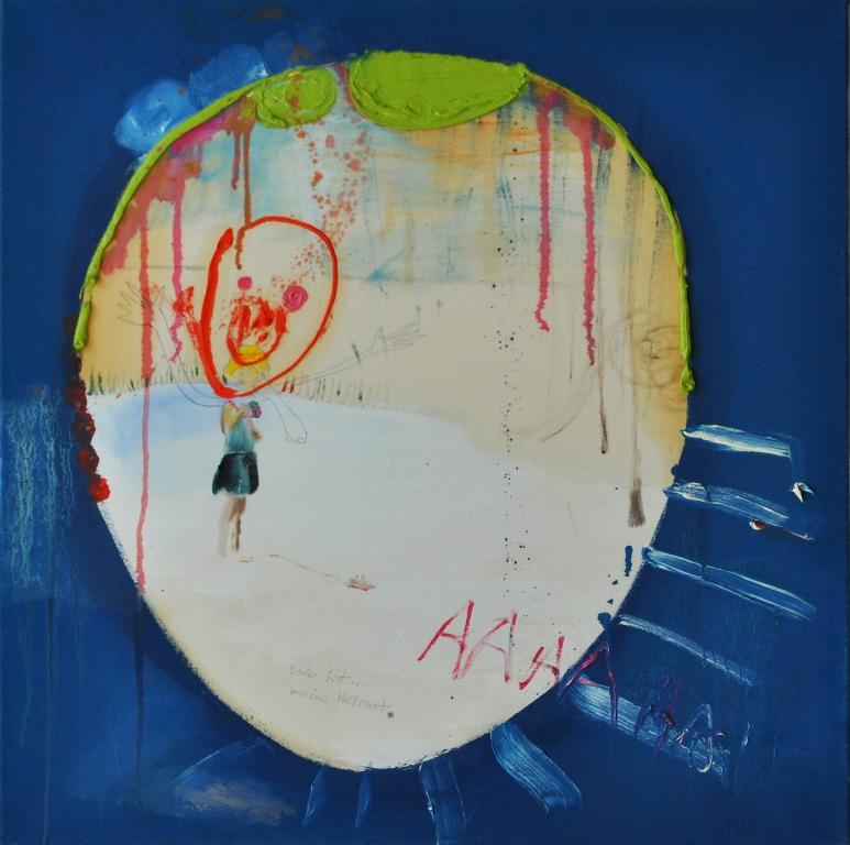 Julia Hinterberger (AAAAAA) 90 x 90 cm 2011