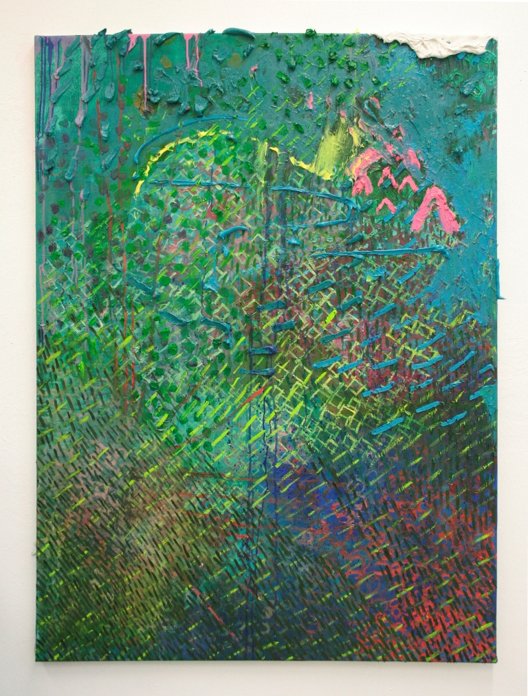 Julia Hinterberger Untergegangen Öl auf Leinwand 140 x 110 cm 2010