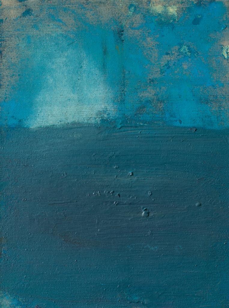Julia Hinterberger, William Turner, Öl und Pigment auf Leinwand, 40 x 30 cm, 2013