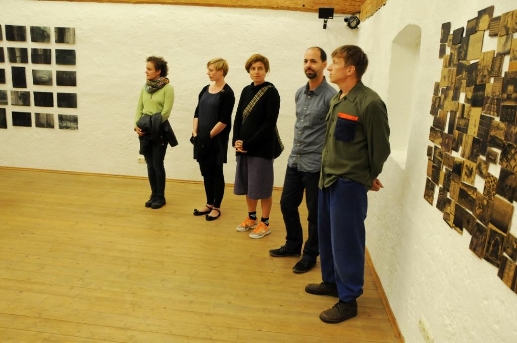 Ausstellungseröffnung In my pocket, Kubinhaus Zwickledt, 2014