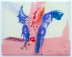 Julia Hinterberger Fisch Öl auf Molino 70 x 90 cm 2014