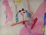 Geistwanderer, Mischtechnik auf Leinwand, 70 x 90 cm, 2014