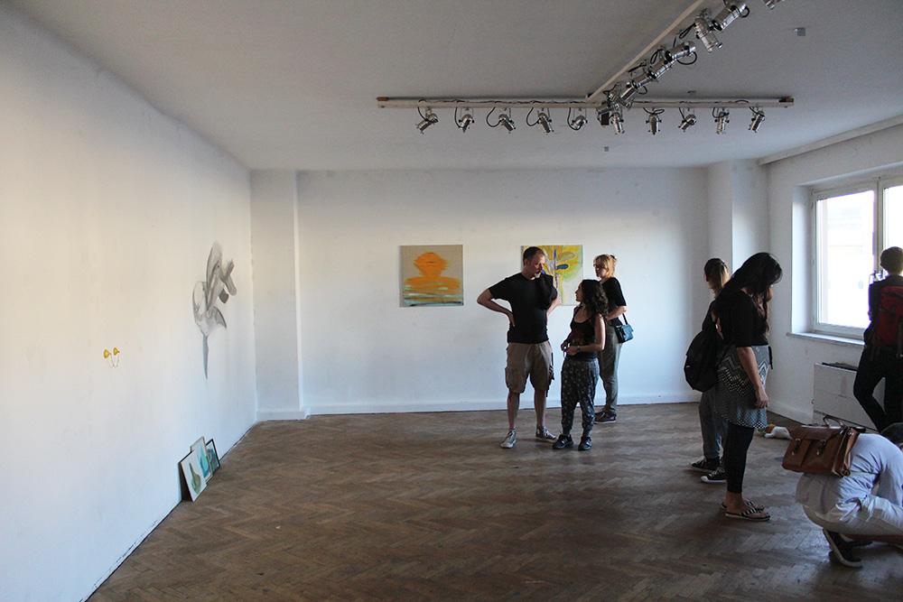 Ausstellungseröffnung Lemon Garden, Julia Hinterberger und Elitsa Velikova, 2015, IMG_5928