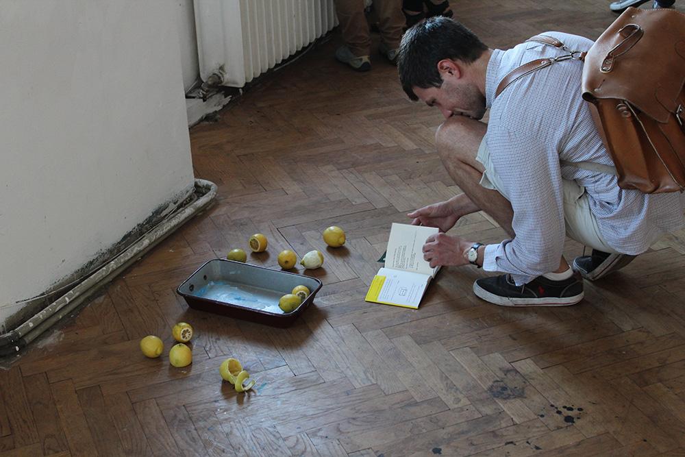 Ausstellungseröffnung Lemon Garden, Julia Hinterberger und Elitsa Velikova, 2015, IMG_5934