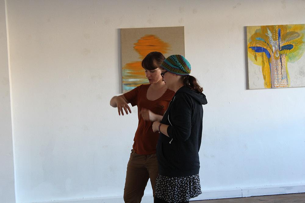 Ausstellungseröffnung Lemon Garden, Julia Hinterberger und Elitsa Velikova, 2015, IMG_5951